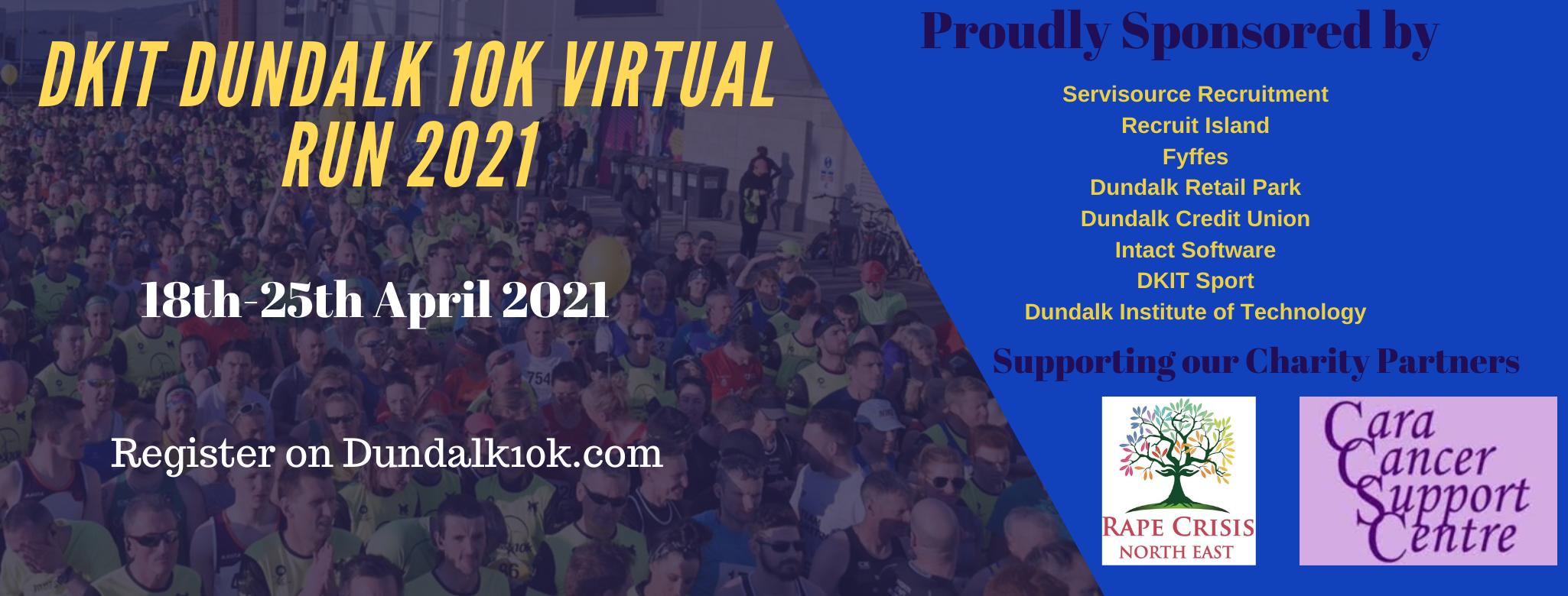 DkIT Dundalk 10k 2021  Logo